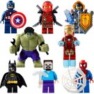 Super Heroes Minecraft Ninjago Minifigures Compatible Lego Toy Minifigures sets