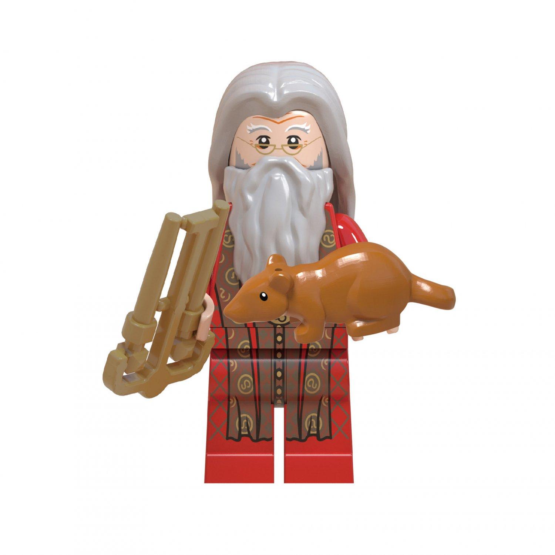 Dumbledore Minifigures Compatible Lego Harry Potter Minifigure