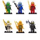 Jay Zane Kai Lloyd Minifigures Compatible Lego Toy Ninjago Minifigure