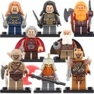 Orc Dain II Ironfoo Fili kili Minifigures Compatible Lego Toy The Hobbit Minifigures