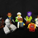Stone Monster Pirate Captain Nurse Minifigures Compatible Lego Toy Minifigures sets