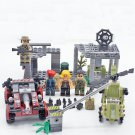 Military base Jungle Troops soldiers Minifigures Compatible Lego Military Toy