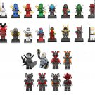 24pcs Ninjago Vermin Wu The wei snake Minifigures Compatible Lego Ninjago sets