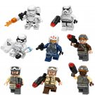 First Order Snowtrooper Resistance Pilot Minifigures Compatible Lego Star Wars sets