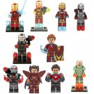 10pcs The Avengers movie Iron Man Minifigures Compatible Lego Marvel movie Toy