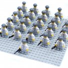 26pcs Prison prisoner Minifigures Compatible Lego Toy City Minifigures