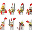 Medieval Knights Paladin soldiers Minifigures Compatible Lego Toy Medieval castle