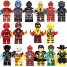 16pcs DC The Flash Minifigures Compatible Lego Toy Super Heroes sets