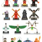 16pcs Spider-Man movie Vulture Doctor Octopus Minifigures Compatible Lego Super Heroes Toy