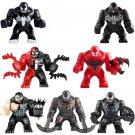 Venom Riot Venom&Carnage Minifigures Compatible Lego Super Heroes Toy