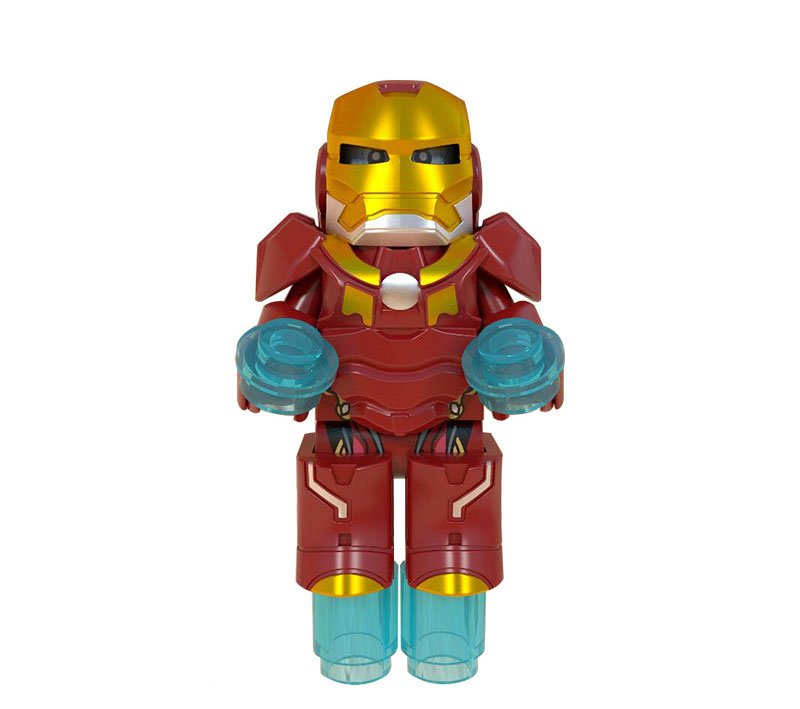 New Iron Man Minifigures Compatible Lego Super Heroes Toy