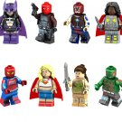 Huntress Arkham Knight Drax the Destroyer Minifigures Compatible Lego Super Heroes movie Toy
