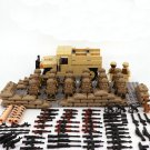 20pcs American soldier Minifigures personnel carrier Toy Compatible Lego Military sets