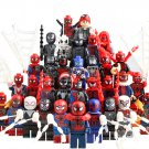 33pcs Spider-Man Into the Spider-Verse Minifigures Compatible Lego Super Heroes Minifigure