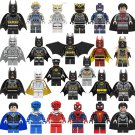 24pcs Iron man Superman Batman Spider-Man Minifigures Compatible Lego Movie Super Heroes