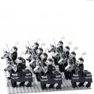 10pcs Shadow Knight Minifigures Lego Compatible Toy Medieval Knight sets