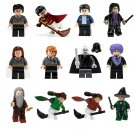 12pcs Lord Voldemort Dumbledore Severus Snape Minifigures Lego Compatible Harry Potter Toy
