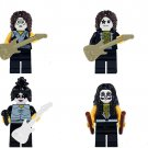 KISS Gene Simmons Starchild Eric Singer Tommy Thayer Minifigures Lego Compatible star Toy