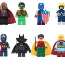 Animal Man Over girl Captain America Minifigures Lego Compatible Super Heroes sets