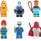 Thundercats Lion-O Tygra Panthro Cheetara Minifigures Lego Compatible Comic sets