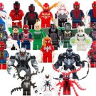 23pcs Spider-Man Comic Minifigures Lego Compatible Super Heroes movie Toy