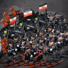 WW2 German army Base soldiers Minifigures Lego Compatible  Military Toy
