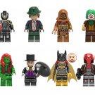 Scarecrow Bane Poison lvy Batgirl Minifigures Lego Compatible DC Super Heroes Toy