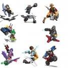 Overwatch Genji Hanzou Widowmaker Minifigures Lego Compatible Game sets