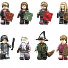 Hermione Ginny Weasley Severus Snape Minifigures Lego Compatible Harry Potter Toy