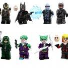 Mister Freeze Catwoman Harley Quinn Minifigures Lego Compatible Batman movie sets