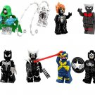 Venom Doctor Doom Colossus Ghost Rider Minifigures Lego Compatible Super Heroes sets
