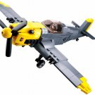 Germany BF-109 fighter building block Toy Lego Compatible WW2 Military sets