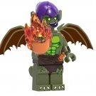 Green Goblin Minifigures Lego Compatible Spider-Man Into the Spider-Verse