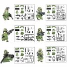 WW2 Camouflage Commando Minifigures Lego Compatible Military sets