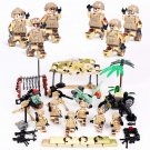 Special Forces Desert Base Minifigures Lego Compatible WW2 Military set
