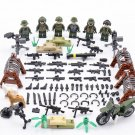 Soldiers Base Lego Minifigures Compatible Toy