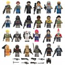 24pcs Fortnite Character Minifigures Compatible Lego Game Sets