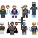 Pepper Tony Stark Korg Nova Minifigures Compatible Lego Avengers Toy