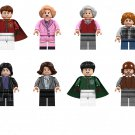 Oliver Wood The Trolley Witch Ron Weasley Minifigures Compatible Lego Harry Potter Sets