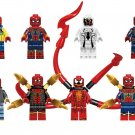 Spider-Man Carnage Anti-Venom Minifigures Lego Compatible Marvel movie Toy