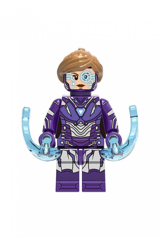 Pepper Minifigures Compatible Lego Marvel Super Heroes sets