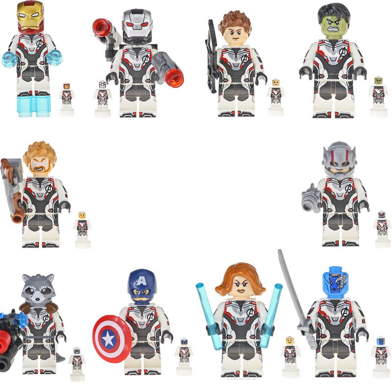 Avengers 4 End Game Space Suit minifigures Compatible Lego 2019 Avengers Toy