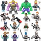 16Pcs Hawkeye Black Widow Ant-Man Avengers Endgame Minifigures Compatible Lego Game sets