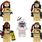 Ghost Busters Stay Puft Minifigures Lego Compatible movie sets