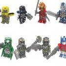 Optimus Prime Megatron Bumblebee Transformers Minifigures Lego Compatible Toy