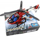 Propeller Helicopter Building Toy Compatible Lego City Rescue