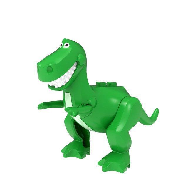 Tyrannosaurus rex Minifigures Lego Compatible Toy Story
