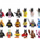 Minifigures Series 18Pcs Batman movie Compatible Lego Minifigure 71020