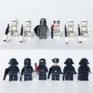 12pcs Star Wars First Order Darth Revan Clone Trooper Minifigures Lego Compatible Toy