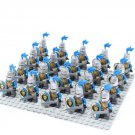 21pcs Medieval Castle Knight Soldiers Minifigures Lego Compatible Toy